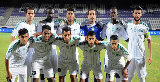 الرجاء  البيضاوي يتفوق على الاسماعيلي المصري