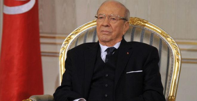 السبسي: التحالف مع حركة النهضة يهدف إلى استقرار تونس