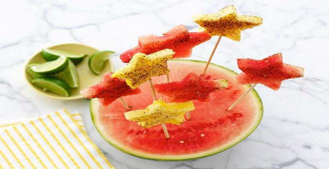 5 أنواع من الحلوى الصيفية بعد الوجبة الرئيسية