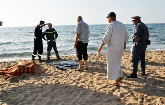 طنجة. شرطي يلقى حتفه غرقا بشاطئ أشقار