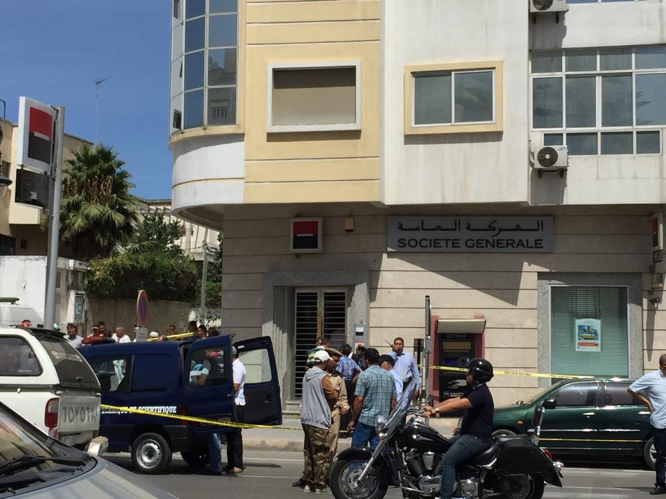 بالفيديو. سطو مسلح على ناقلة للأموال بمدينة طنجة!