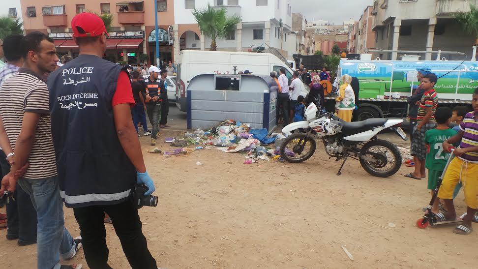 عاجل. العثور على رصاص حي وسط القمامة يستنفر الأجهزة الأمنية بالبيضاء