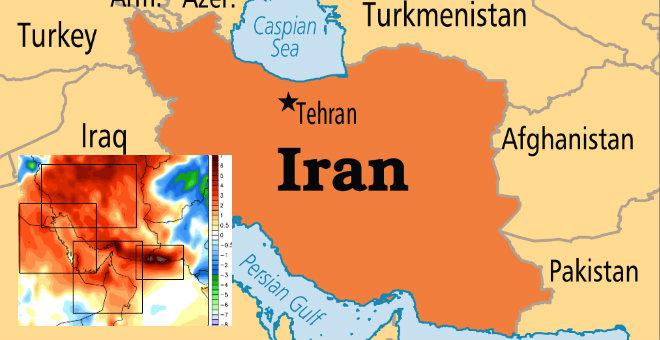 الحرارة تصل إلى 72درجة في ايران