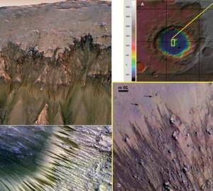 الخطوط-المتعرجة-على-المريخ