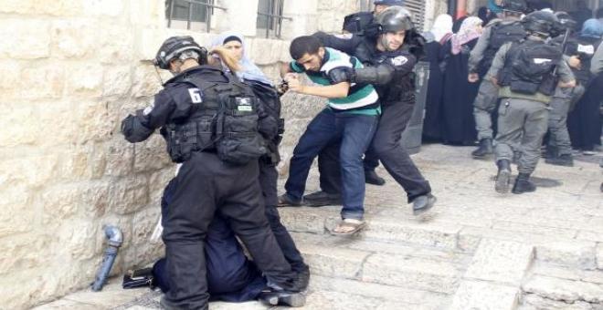 مظاهرات فلسطينية حاشدة للتنديد بالجرائم الإسرائيلية