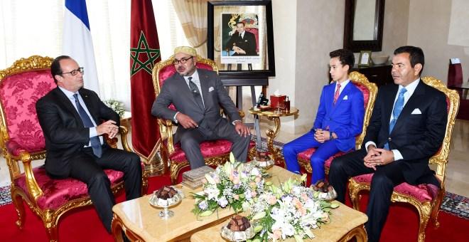 هولاند: زيارتي للمغرب كانت ناجحة على جميع الأصعدة