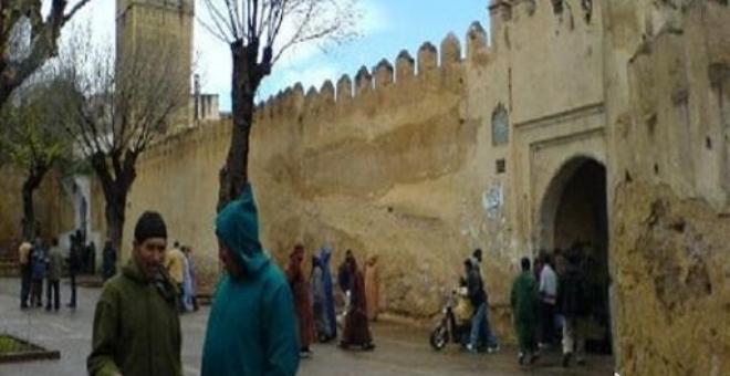 إنهاء عمليات صيانة وترميم أسوار مدينة صفرو العتيقة