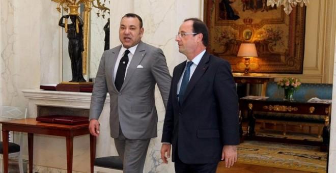 لقاء القمة بين الملك والرئيس هولاند ..تكريس للشراكة بشكل أعمق