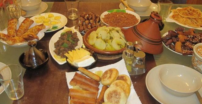 بروكسيل تتذوق  الطبخ المغربي