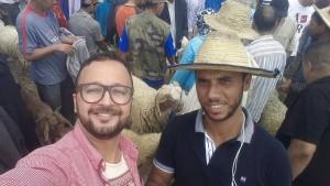 محمد الخو  في سوق الكبش بوزان