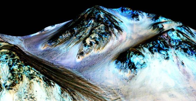 """المريخ """"رسمياً"""" ممتلئ بالمياه.. إعلان ناسا الأخير الذي فاجأت به العالم !"""