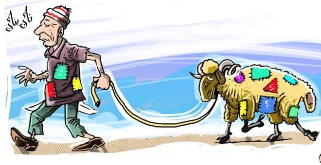 رسامو الكاريكاتير المغاربة يتعاطفون مع
