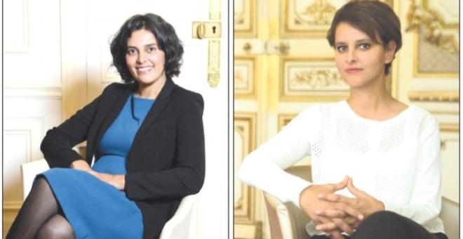 الوزيرتان المغربيتان في الحكومة الفرنسية ترافقان فرانسوا هولاند في زيارته للمملكة