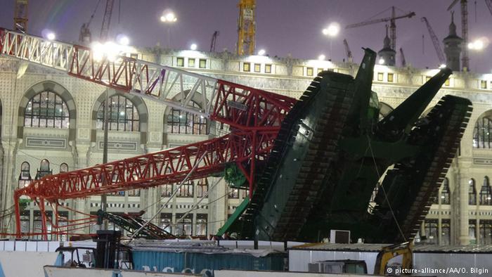 مهندس سعودي: سقوط الرافعة ليس بسبب خطأ تقني وإنما هي
