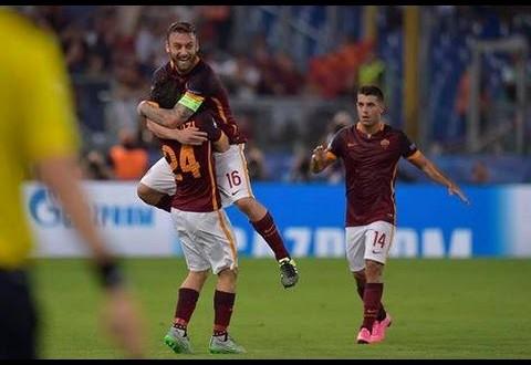 برشلونه 1-1 روما