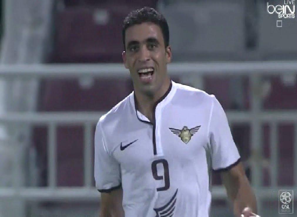 حمد الله يبدع في تسجيل أول أهدافه في الدوري القطري