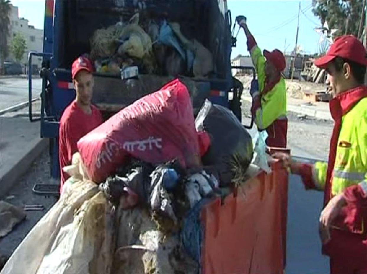 هكذا تصبح شوارع المغرب بعد نحر الأضاحي