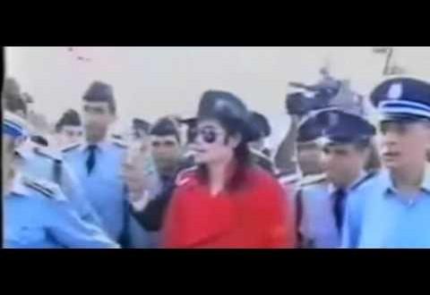 فيديو نادر للفنان مايكل جاكسون في المغرب