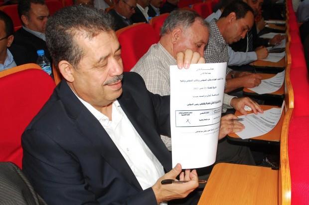 بالصور. شباط يسرق الأضواء ويصوت لصالح الأزمي عمدة لمدينة فاس!