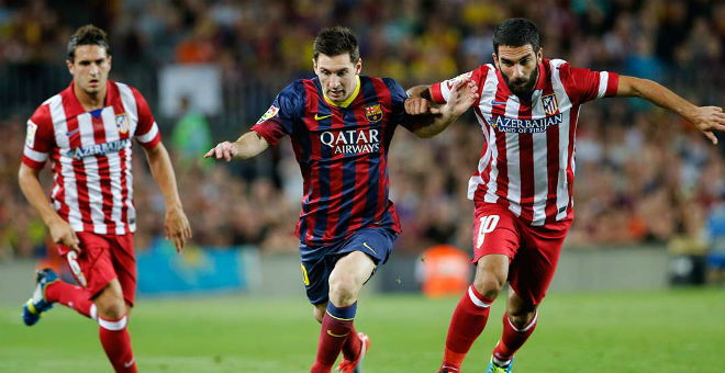 ميسي يهدي برشلونة فوزا ثمينا على حساب أتليتيكو مدريد