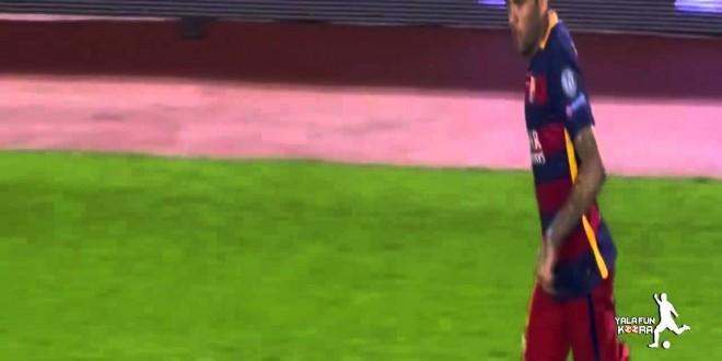 برشلونه وباير ليفركوزن 2-1