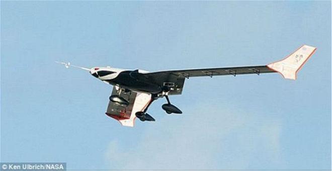 بالصور: أسرع طائرة دون طيار في العالم