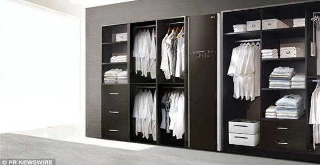 بالصور..خزانة تغسل الملابس في 30 دقيقة