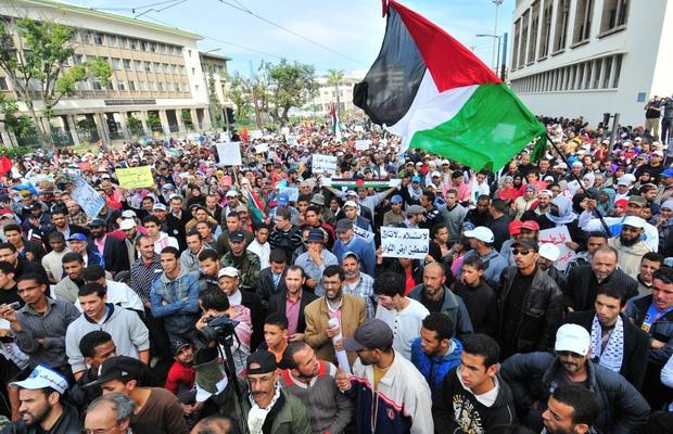 دعوة إلى جعل غد الجمعة يوما تضامنيا مع الشعب الفلسطيني بالرباط
