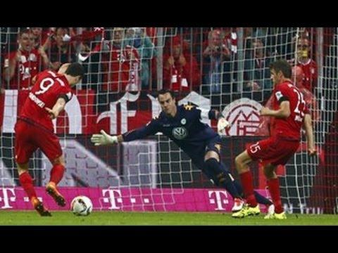 ليفاندوفسكي يسجل 5 أهداف في 9 دقائق