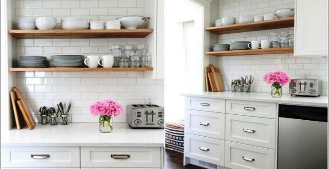 10 أفكار لإضفاء الحياة على مطبخك التقليدي