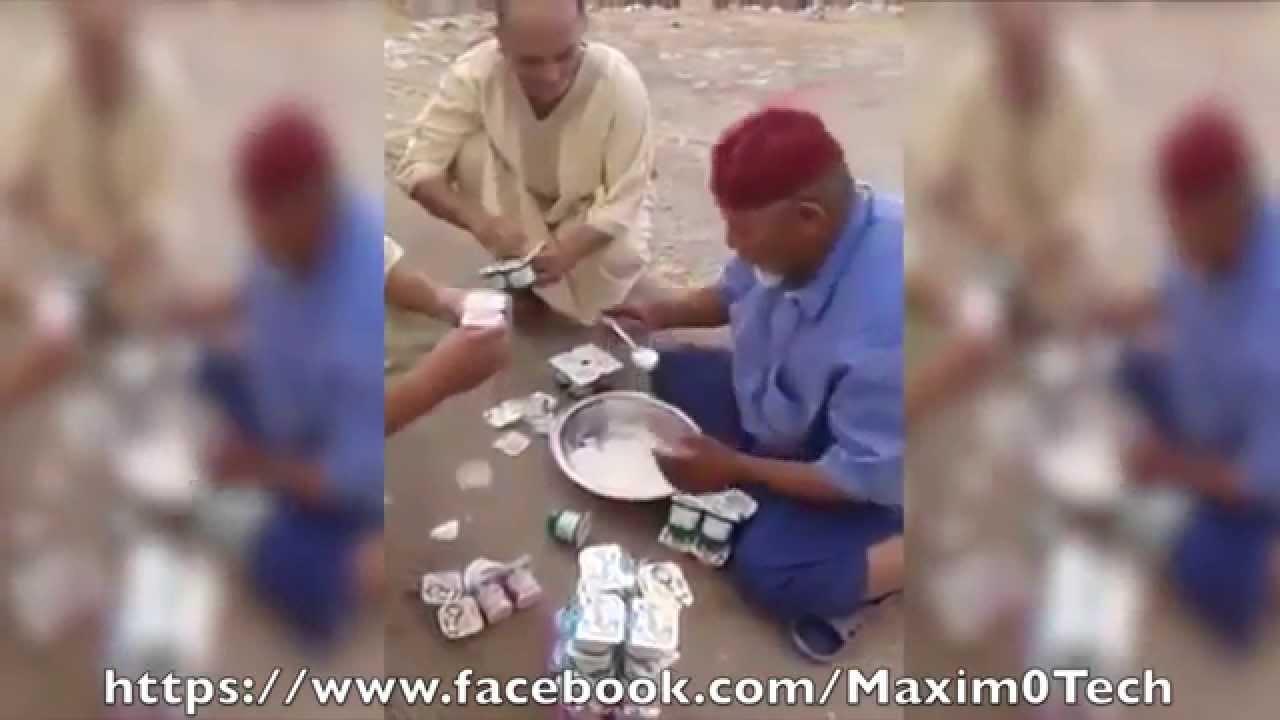 مسن مغربي يأكل أزيد من 60 علبة ياغورت