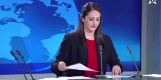 شجار على الهواء في بلاطو أخبار القناة الأولى