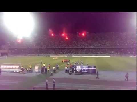 تيفو جمهور اتحاد طنجة في مباراة فريقه أمام الماص