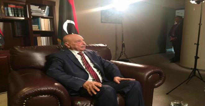 عقيلة صالح يتهم حكومة طرابلس بعرقلة الديمقراطية في ليبيا