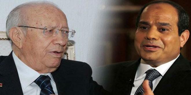 Essebsi Al Sissi