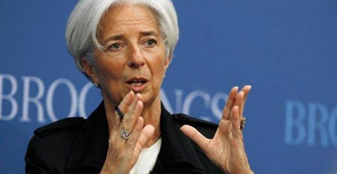 لاغارد تعد تونس بتعامل مرن من قبل صندوق النقد الدولي