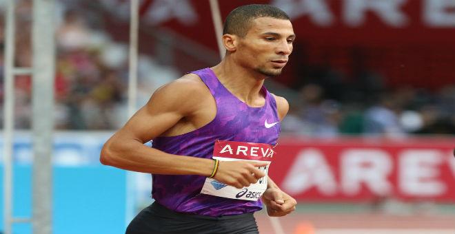مخلوفي يعتذر للجزائريين بعد فشله في بطولة العالم ببكين