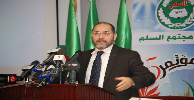 مقري يهاجم الفساد وسوء التدبير في الجزائر