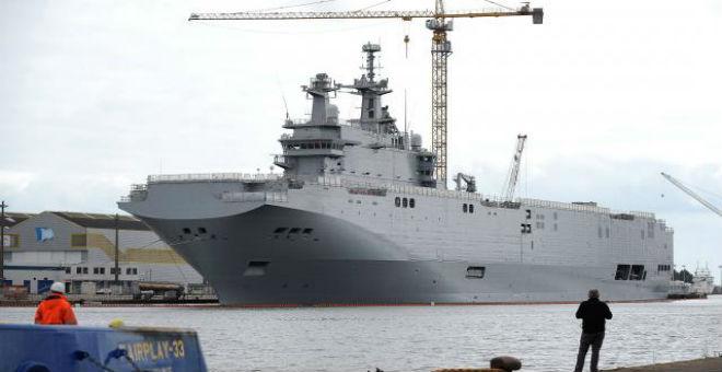 فرنسا تبيع مصر سفينتي