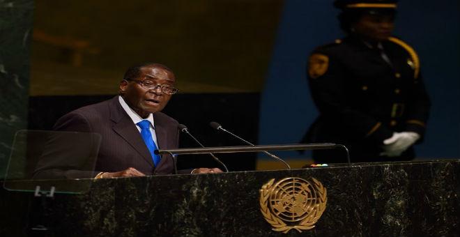 موغابي من على منصة الأمم المتحدة: