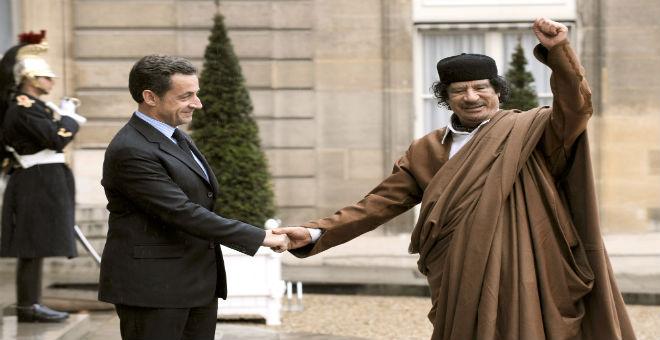ساركوزي وحالة الإنكار بخصوص القذافي والفوضى الليبية
