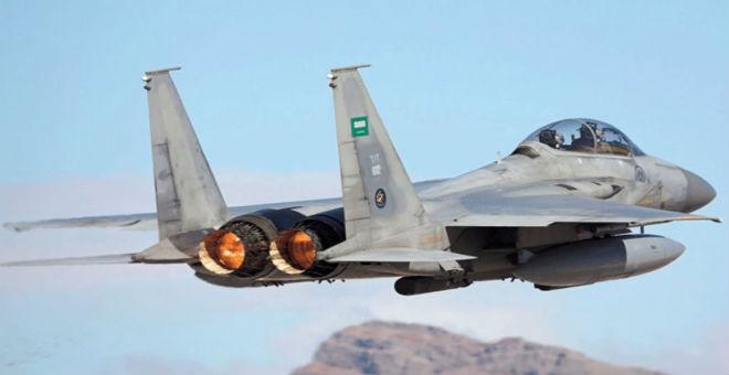 غارات مكثفة لطيران التحالف ضد مواقع الحوثيين في صنعاء