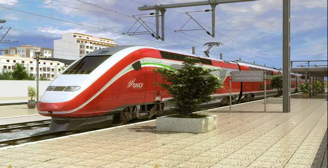ثاني عربات القطار فائق السرعة تصل اليوم إلى طنجة