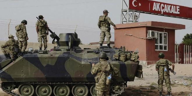 Turkish Army borders