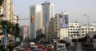 الدار البيضاء تتجمل بنافورة