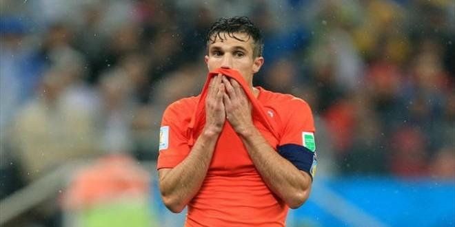 Van Persie shocked