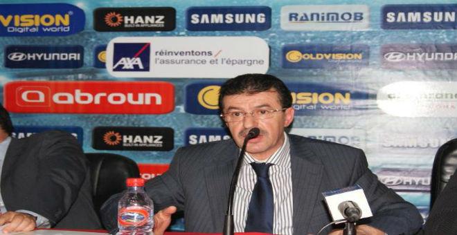 عبد المالك أبرون يواصل رئاسة فريق المغرب التطواني