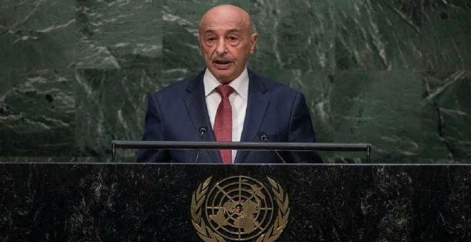 عقيلة صالح يدعو الدول لمساعدة ليبيا في استرجاع أموالها المهربة