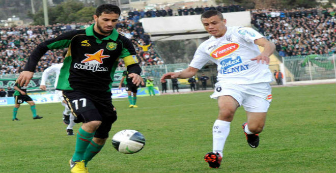 التعادلات تطغى على نتائج مباريات الدوري الجزائري