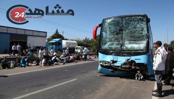 حرب الطرق..حادثتا سير تتسببان في جرح العشرات بهذه المنطقة